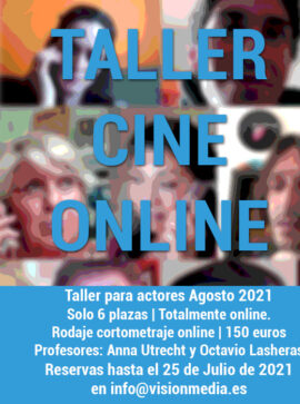 Taller Cine Online Agosto 2021