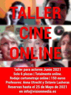 Taller Cine Online Junio 2021